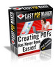 Thumbnail Easy PDF Maker with MRR