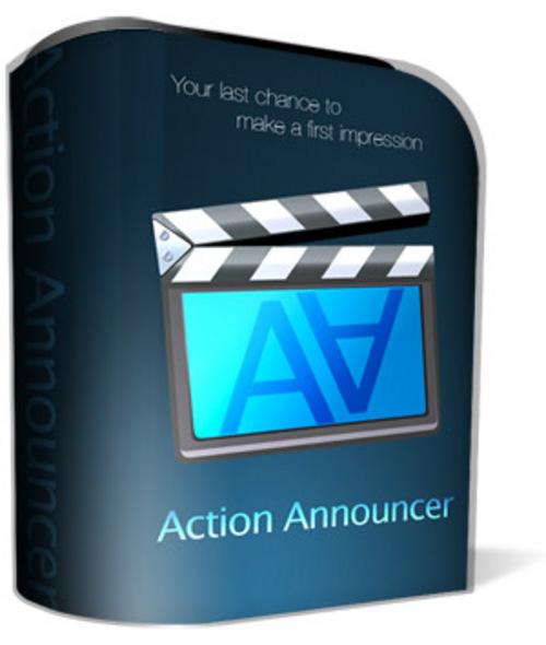 Product picture Action Announcer (PLR)