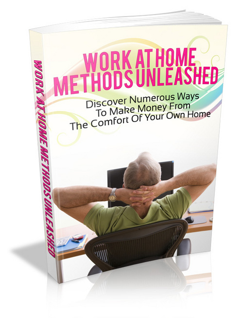 Product picture Work Home Methods Unleashed (Master Resell Rights)
