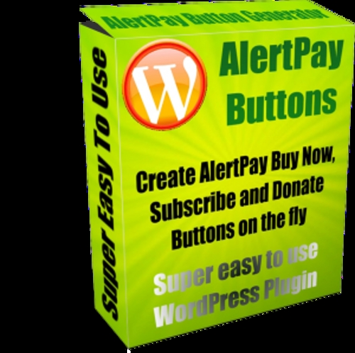 Product picture AlertPay Buttons Plugin (Master Resell Rights)