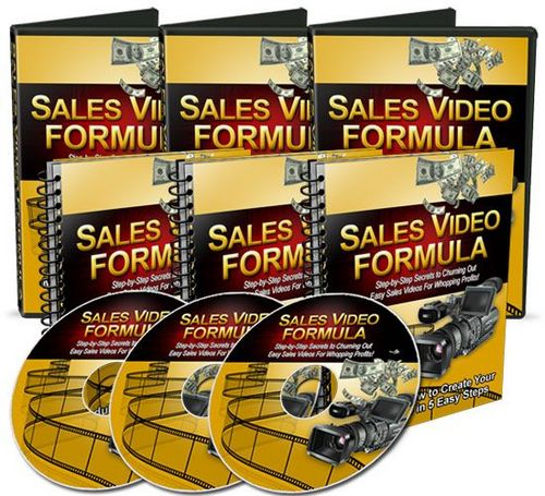 Product picture Sales Video Formula (Master Resell Rights)