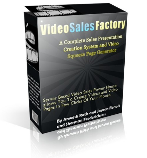 Product picture Video Sales Factory (Master Resell Rights)