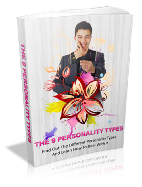 Product picture 9 Personality Types (Master Resell Rights)