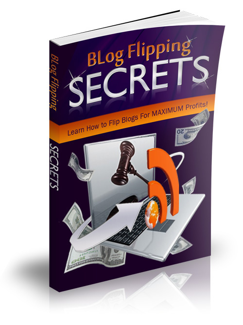 Product picture Blog Flipping Secrets (Master Resell Rights)