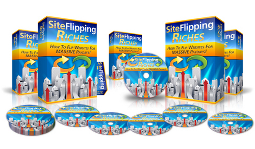 Product picture Site Flipping Riches (Master Resell Rights)